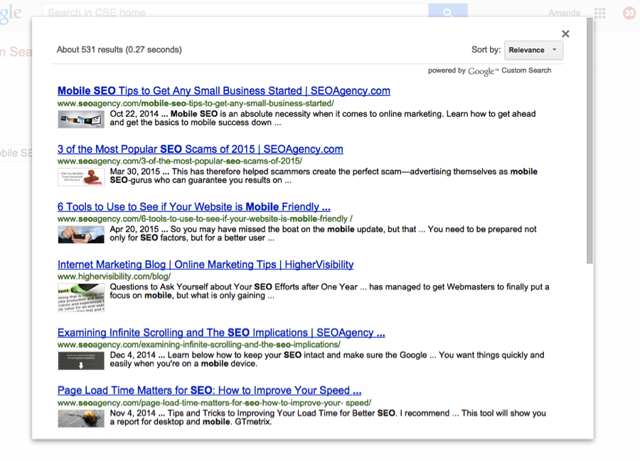 How to Use Google Custom Search to Bring You SEO to the Next